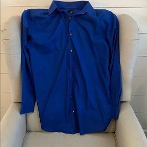L/S J Ferrar Men's Dress Shirt
